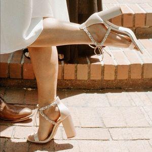 Badgley Mischka Wedding Heels!